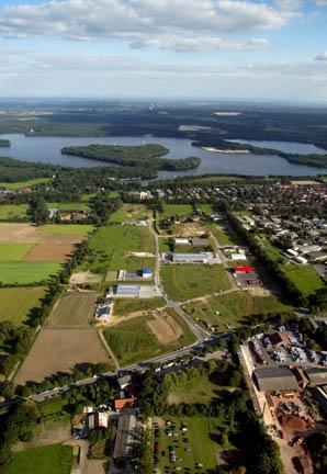 Luftbild Gewerbepark Am Prozessionsweg
