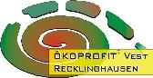 Logo des OEKOPROFIT-Projektes Vest RE